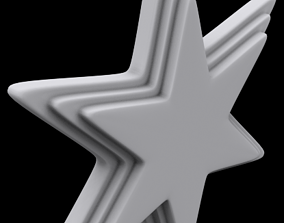season 3D printable model Star Ornament