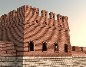 3D model Great Wall Of China
