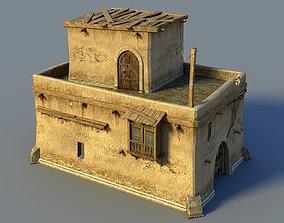 3D model Oriental house 3