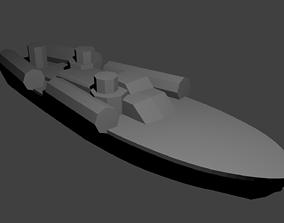 3D print model US Elco 80ft PT Boat