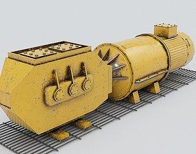 3D model realtime Industrial Equipment