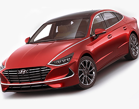 Hyundai Sonata 2020 3D model