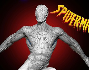 peterparker Spider-man Bust Ready For 3D Print