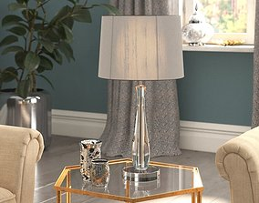 Bojorquez 51cm Table Lamp 3D