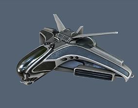 Intergalactic Spaceship 3D asset