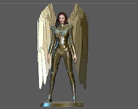 3D print model WONDERWOMAN 1984 GOLDEN ARMOR STATUE DC 3