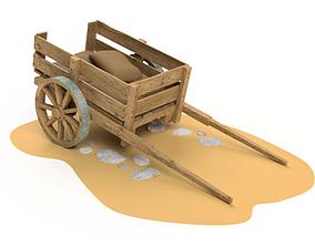 3D model Horse cart