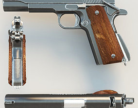 Pistol Colt1911 3D model