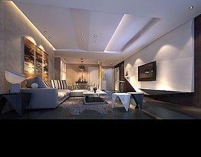 Living Area 3D model - 18