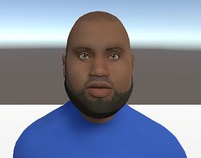 3D Unity Humanoid Model Male 004