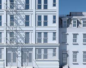 3D Commercial Building Facade 02