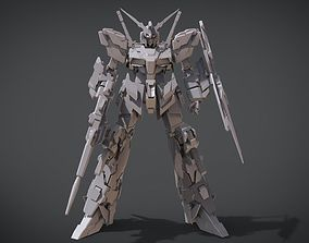3D print model Gundam Unicorn