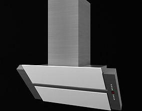 Modern Glass Over Hood 3D model