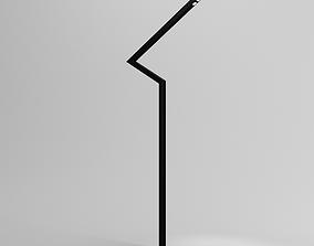 3D model Street light lamp post