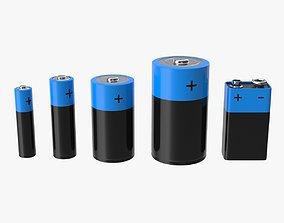 3D model Battery Set