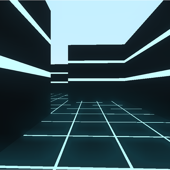Epic maze game made with blender game assets