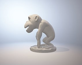 3D printable model Chimpanzee