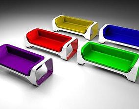 Sofa pack 3D model