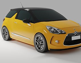 Citroen Ds3 Car 3D Model