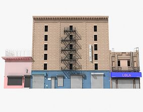 New York industrial building 3D model