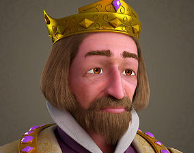 cartoon 3D Cartoon King