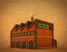 3D model Cartoon Factory