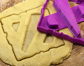DoTa cookie cutter for 3D print model