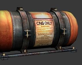 CNG Tank 3D model