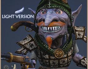 3D asset Goblin Bandit Light Version