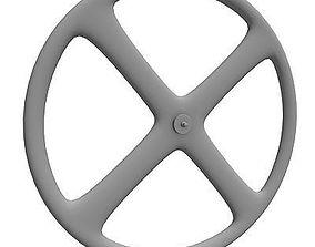 3D Detailed Formed Bike Wheel
