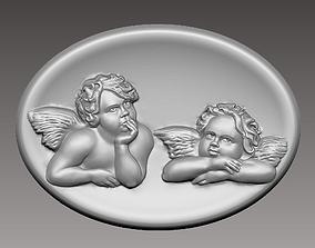 3D print model angels