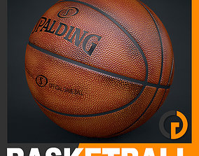 3D model Spalding Official Dirty Game Ball