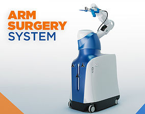 3D model Mako Robotic Arm Assisted Surgery Machine