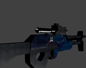 3D asset Future Sniper Rifle