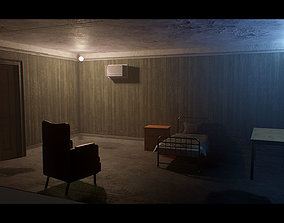 Old Dirty Room 3D asset