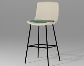 3D rigged Pato 4 Leg Barstool - By Welling and Ludvik