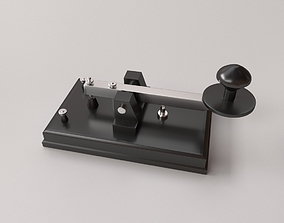 3D model Telegraph Key