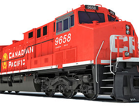 Canadian Pacific Locomotive 3D