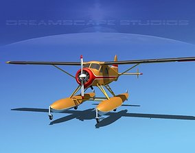 Dehavilland DHC-2 Beaver V14 3D model
