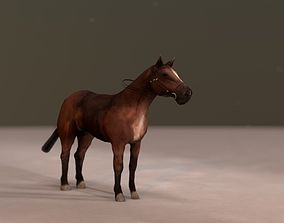 LOW POLY HORSE 3D animated