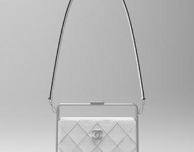 Chanel Clutch bag Metal frame 3D model