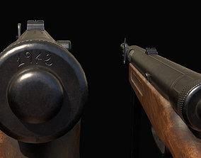 Moschetto Beretta MAB 38-42 SMG 3D model