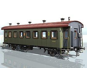 vagon suburban wagon 3D model