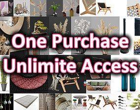 Hemase MegaPack - One purchase unlimited access 3D model