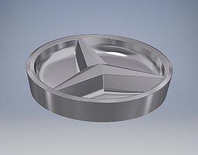 Mercedes Logo 3 compartment bowl 3D printable model