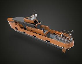 Rescue boat 3D model