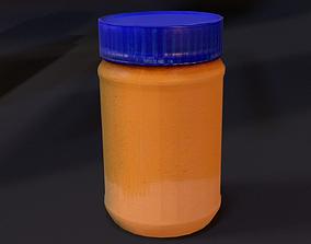 Peanut Butter 3D asset