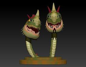 Cremallerus espantosus 3D print model