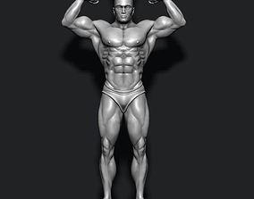 3D print model Bodybuilder pendant