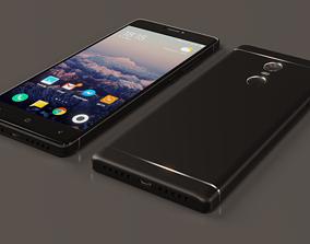 3D model Smartphone Xiaomi Redmi Note 4X